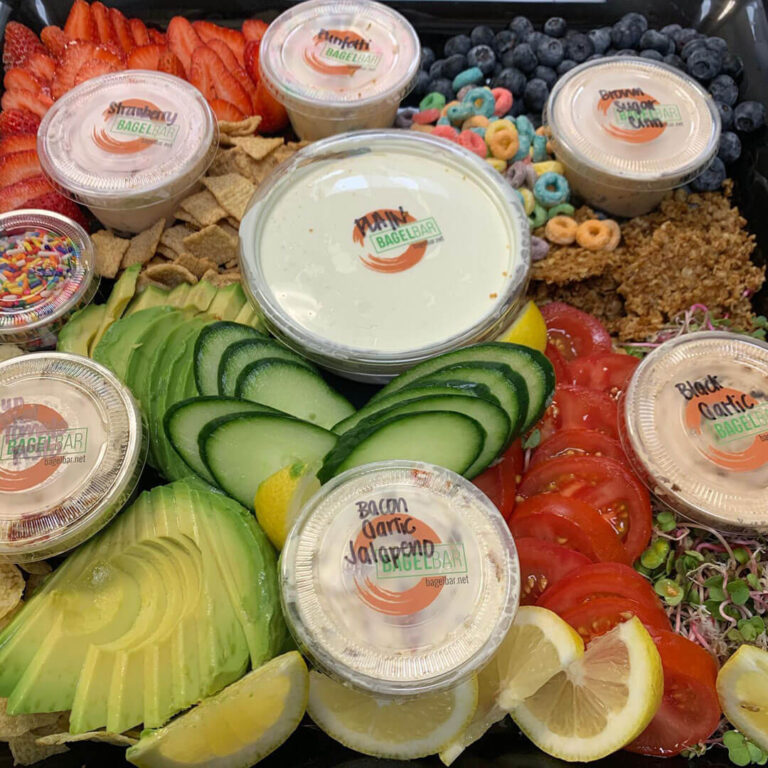 bagel-bar-campbell-catering-spread